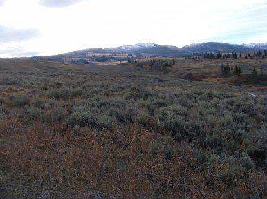 The Blacktail Deer Plateau and the Washburn Range, Yellowstone National Park