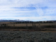 Looking south over Blacktail Deer Plateau, from the parking area between North and South Buttes