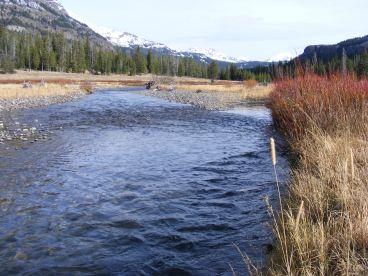 Soda Butte Creek between Barronette and Abiathar Peaks