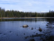 A view of the Broadwater River in the Beartooth Mountains of Montana