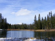 The Broadwater River in the Gallatin National Forest