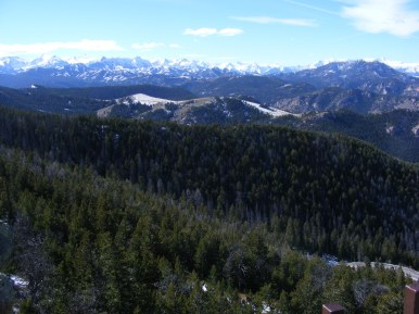 From Dead Indian Pass in Wyoming, looking a the Absaroka Range