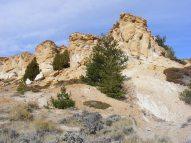 Castle Gardens on Bureau of Land Management lands in Wyoming