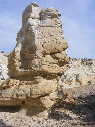 Sandstone spire in Castle Gardens