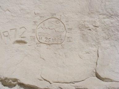 Interesting vandalism at Castle Garden