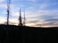 Dawn in the Medicine Bow Mountains of Wyoming