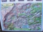 Handy map at the Lake Marie Trailhead
