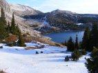 Lake Marie below Medicine Bow Peak in the Snowy Range