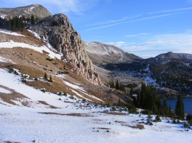Medicine Bow Peak from the south