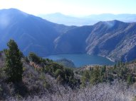 Looking across the Black Canyon of the Gunnison River to the San Juan Mountains