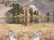 In repose at Mill Lake
