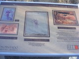 Additional Signage at the Waving Hands Site in the Canyon Pintado National Historic District