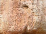 Medicine Lodge petroglyph