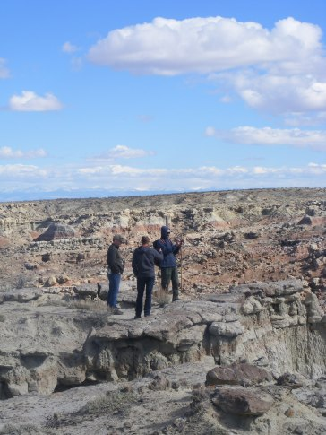 Conversation at Gooseberry Creek Badlands