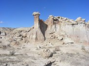 Tall chimney at Gooseberry Creek Badlands