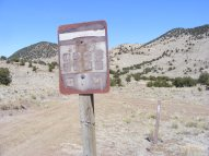 Bureau of Land Management Road 5265, Cabin Draw Road