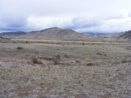 Looking out towards Saguache Creek