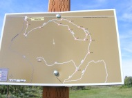 Simms Mesa Trail signage