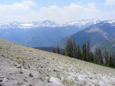 Hiking in the San Juan Mountains, on the Williams Creek Trail
