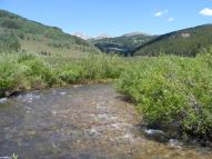 A fine day on Cement Creek in the Elk Mountains of Colorado