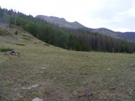 On the unnamed pass between East Middle and Indian Creeks