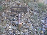 Signage for the Independence Gulch Trail No. 234 at the Independence Trailhead