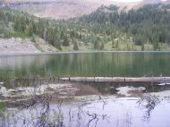 The view from Boulder Lake's south side