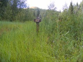 Signage for Garden Gulch