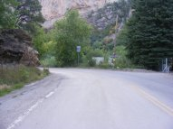 The northern end of Colorado 325