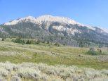 The western flank of Osborn Mountain