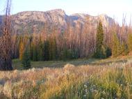 The last bit of sunlight in the Roaring Fork Basin
