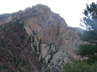 Some of the tortured geology of the Sheep Creek Geologic Area, Ashley National Forest