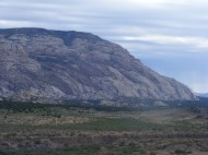 I love the nearly visible anticline here, on Cliff Ridge (or is it Blue Mountain?)