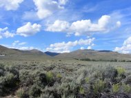 Sagebrush steppe, looking north from Old Steven's