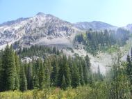 One of the basins to the east of Copper Creek