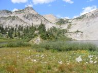 East Maroon Pass above Copper Lake