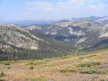 South Quartz Creek and the Sawatch Range beyond