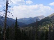 Mountains about Middle Quartz Creek