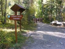 The Cataract Gulch Trailhead, managed by the Gunnison Field Office of the Bureau of Land Management