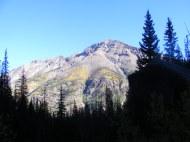 Climbing up Cataract Gulch, looking at Sunshine Peak