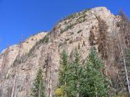 Cliffs above Cataract Gulch