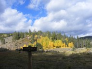 The Autumn Equinox at the Long Branch/Baldy Lake Trailhead