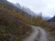 An Autumn day in the San Juan Mountains, in Cottonwood Creek hiking BLM Road 3309