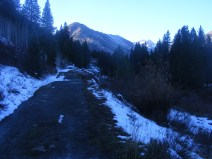 The Lower Loop Trail, on the bed of the former Denver and Rio Grande Western Railroad