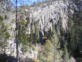 Hiking through the West Elk breccia