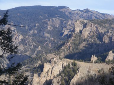 The odd geology of the West Elk Mountains