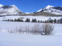 Looking towards the Copper Creek drainage