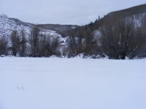 An unnamed drainage that rises up to Red Mountain, this is where the Kubler Mine sat