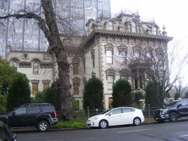 The Stanford Mansion in Sacramento, California