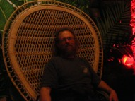 Yours truly in the Big Kahuna chair